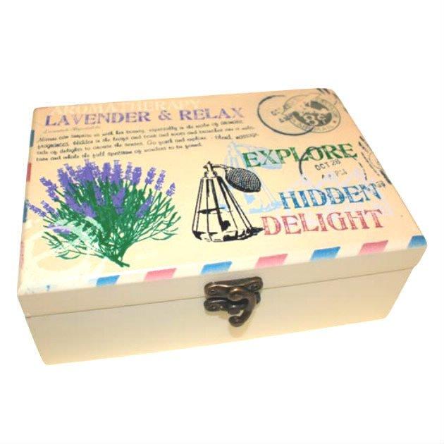 Coffret aromathérapie 24 compartiments
