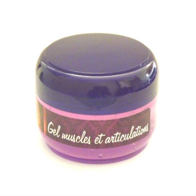 Gel aromatique anti-douleurs pour muscles et articulations.