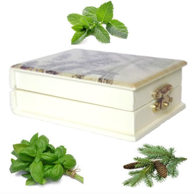 Coffret kit anti-fatigue de 3 huiles essentielles de 10 ml