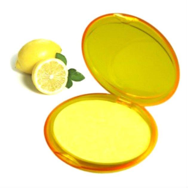 Nouveau joli étui de 20 feuilles de savon parfumé au citron