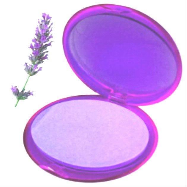 Nouveau joli étui de 20 feuilles de savon parfumé à la lavande
