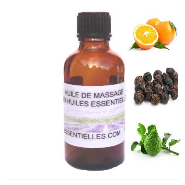 Huile de massage éveil des sens 50 ml