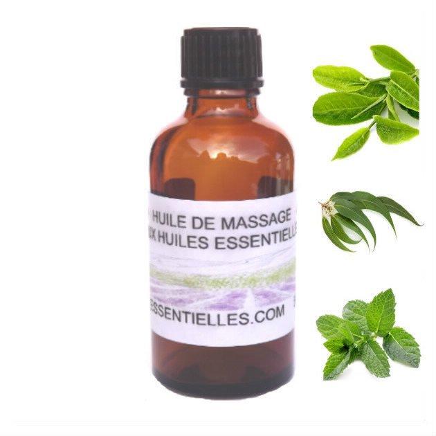Huile de massage fraîcheur 50 ml