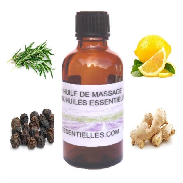 Huile de massage épicée 50 ml