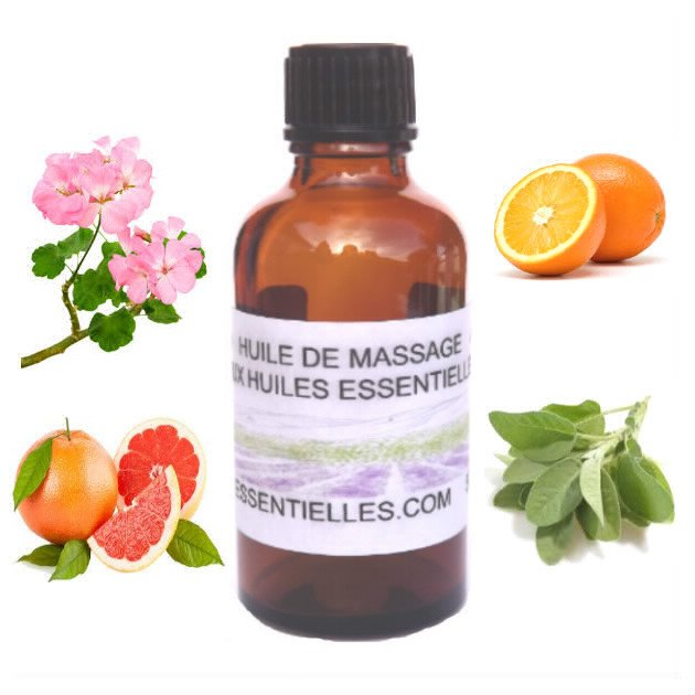Huile de massage anti-cellulite 50 ml