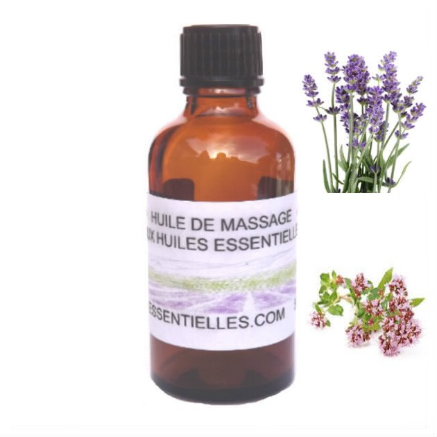 Huile de massage de Lavande 50 ml