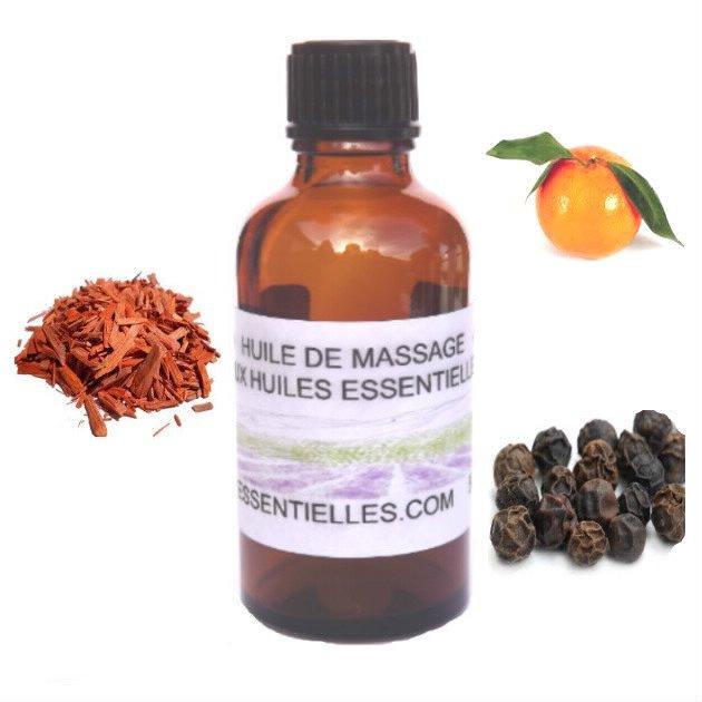 Huile de massage éclat de Bois de Santal 50 ml