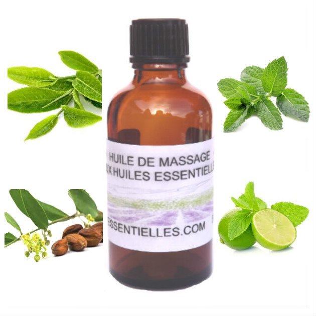 Huile de massage spéciale rasage 50 ml
