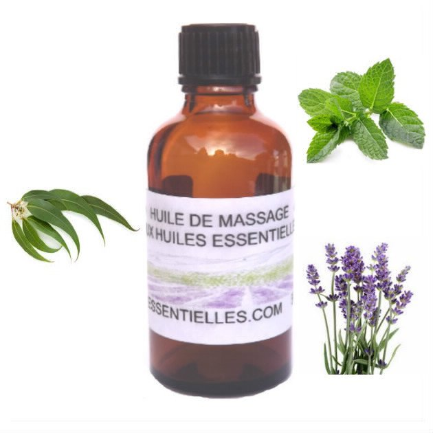 Huile de massage pour muscles 50 ml