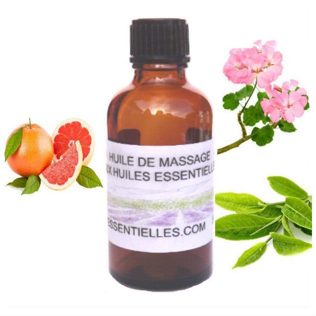 Huile de massage peau nette 50 ml