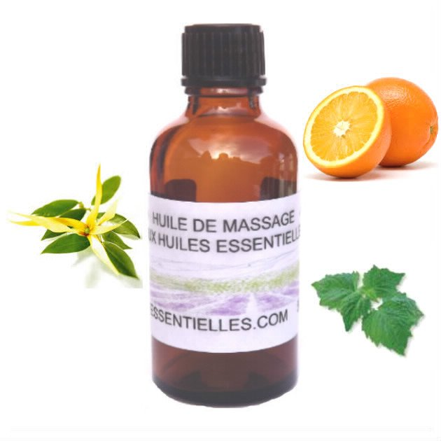 Huile de massage sensuelle  50 ml