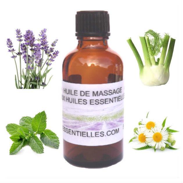 Huile de massage relaxante 50 ml